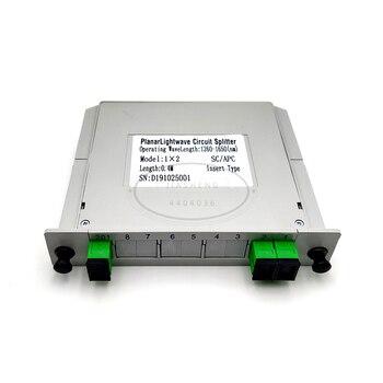 SC APC PLC 1X2 1X4 1X8 1X16 splitter Fiber Optical Box FTTH Splitter box - discount item  18% OFF Communication Equipment