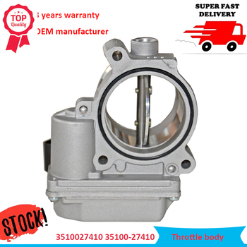OE# 3510027410 35100-27410 Diesel Throttle Body Assembly with Motor and TPS For Hyundai Santafe Sonata Tucson Elandtra Kia
