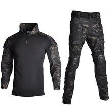 Уличная одежда для страйкбола пейнтбола военная униформа стрельбы