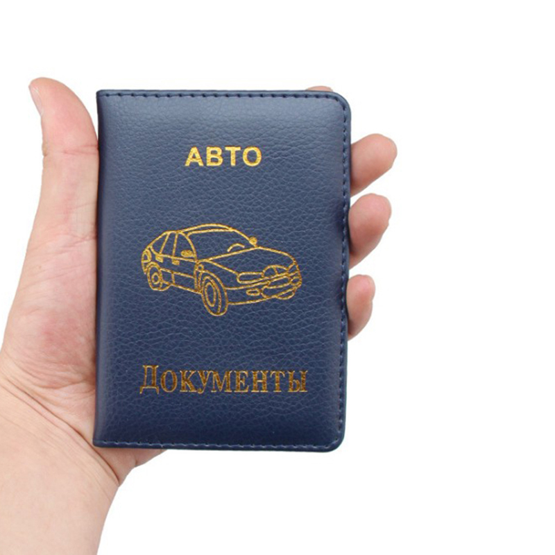Auto Car Driver License Card Holders Covers for Documents Travel Wallet Pouch