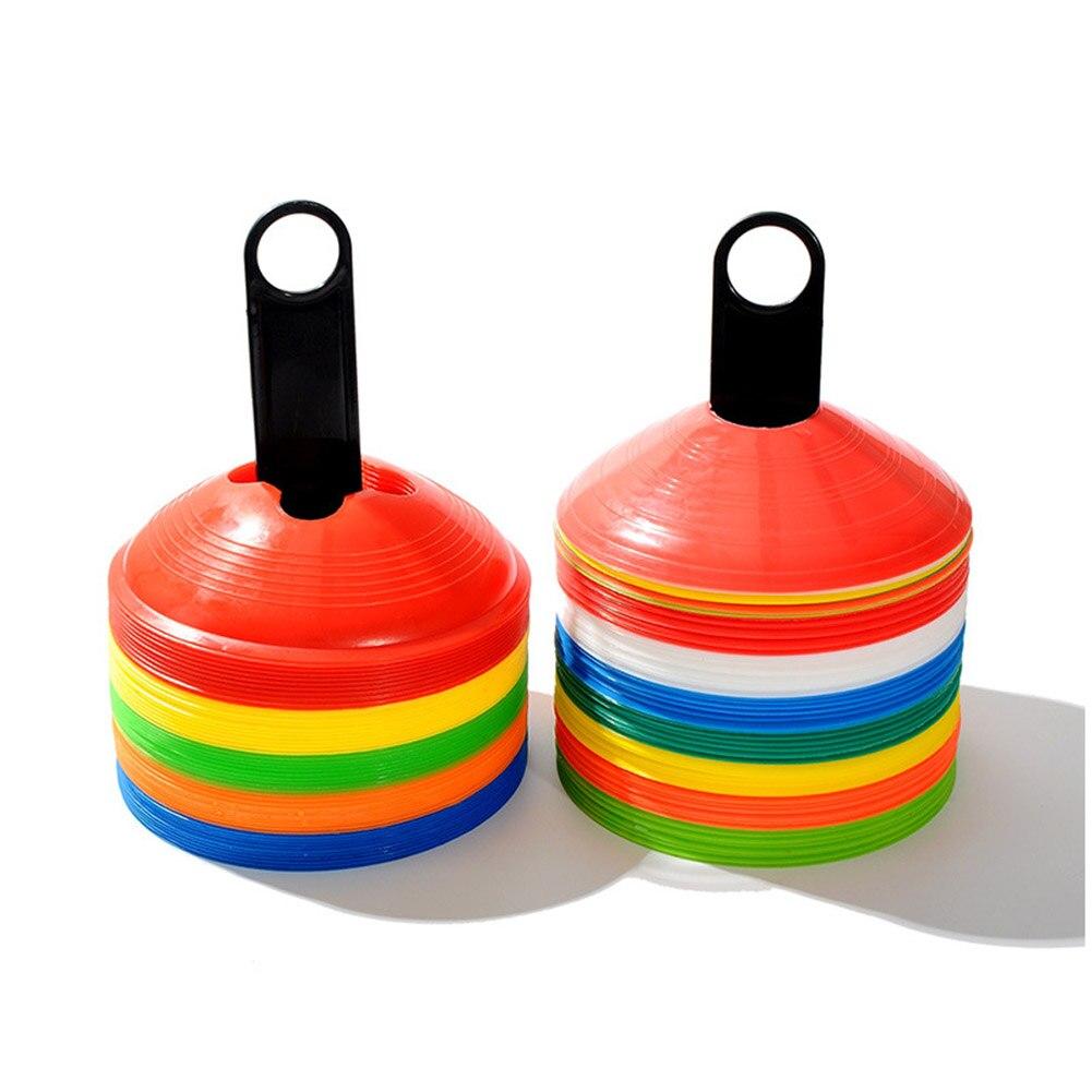 20 unidades de conos de disco de fútbol para entrenamiento de agilidad, marcador de campo de fútbol, YS-BUY Quemador de incienso de reflujo, decoración creativa para el hogar, soporte Buda de cerámica incienso, incensario budista + conos de incienso de 20 piezas, regalo gratis