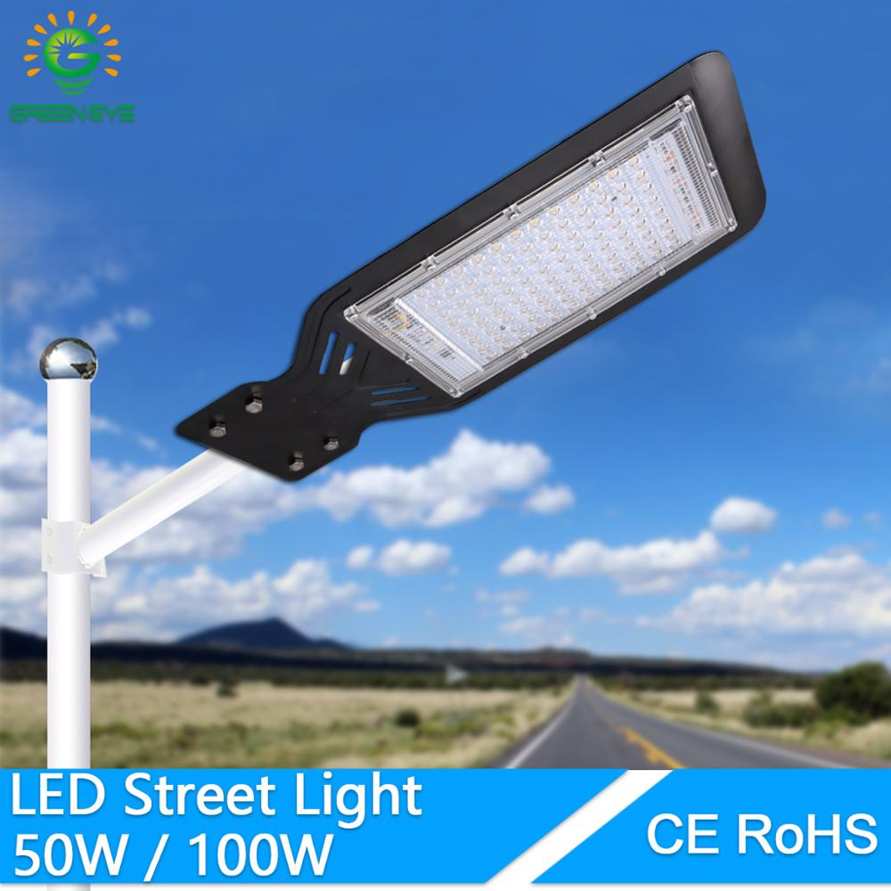 Waterproof Led Street Light Lot Yard Barn Outdoor Wall 100W Lamp Industrial Garden Square Highway Area Parking