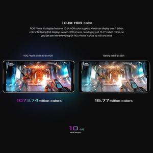 Image 3 - ASUS ROG Phone 2 (ZS660KL)  Gaming Phone 8GB RAM 128GB ROM Snapdragon 855 Plus 6000mAh NFC Android9.0  Smartphone