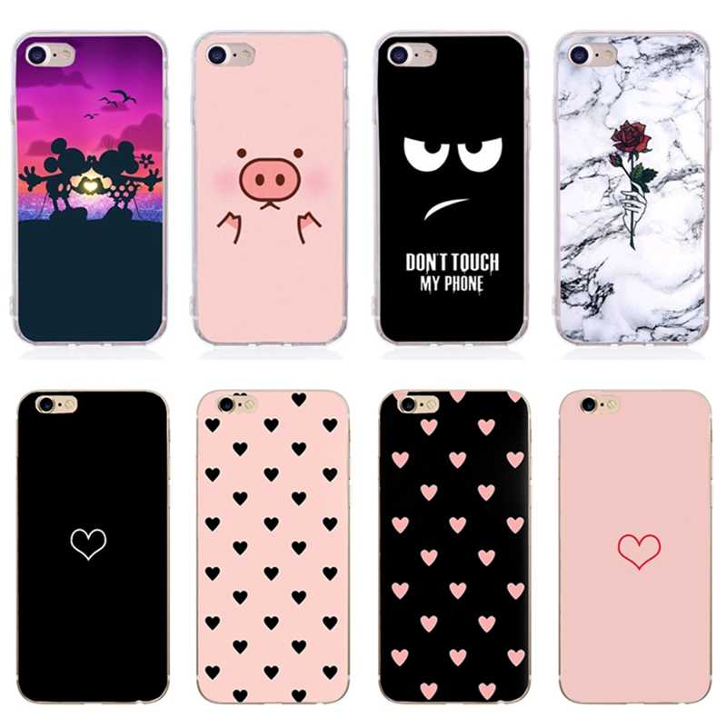 Cute Dog Printed For iphone 7 8 plus x xs max Case Silicone Soft Thin Phone Cover Bumper For ihone 6s 6 7 8plus x 5se 5s 5
