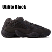Design Desert Rat YZ 500 Soft Vision Stone Kanye West Sneakers Running Shoes Bone White Utility Black Salt 3M Men Women Trainer