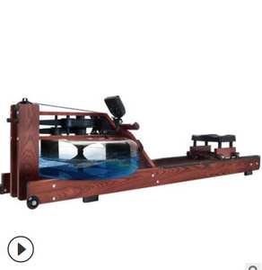 Rowing-Machine Fitness-Equipment Aerobic Liquid-Resistance Commercial Solid-Wood Household