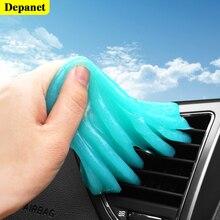 70g para a colagem interior da limpeza do carro para slimes para ferramentas de limpeza/poeira/gel putty plástico cleanser teclado do cuidado slime mais limpo gel