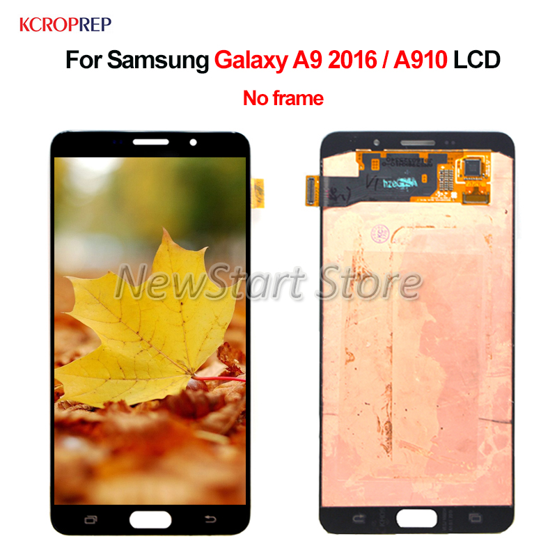 For <font><b>Samsung</b></font> <font><b>Galaxy</b></font> <font><b>A9</b></font> 2016 A910 <font><b>LCD</b></font> Display Touch <font><b>Screen</b></font> Digitizer Assembly Replacement Accessory For <font><b>Samsung</b></font> A910 <font><b>A9</b></font> 2016 <font><b>lcd</b></font> image