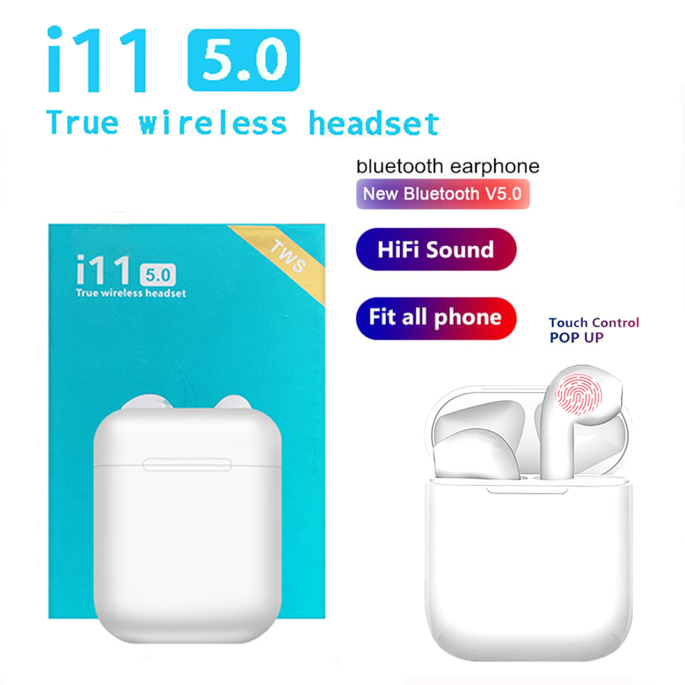 I11s Tws Headset Wireless Bluetooth 5.0 Headset Mini Earbuds, With Microphone Charging Box Sports Headset, For Smart Phones