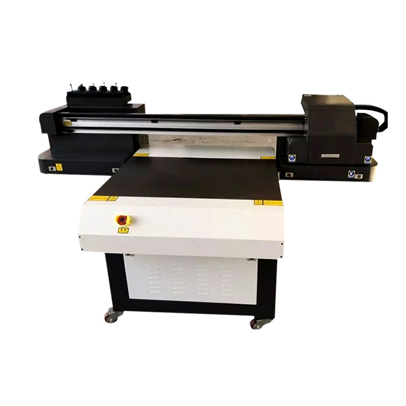 High Quality Cheap UV6090 Printer For T-shirt Acrylic Foam Board With Rotary System And 3 XP600 Printhead UV Flatbed Printer
