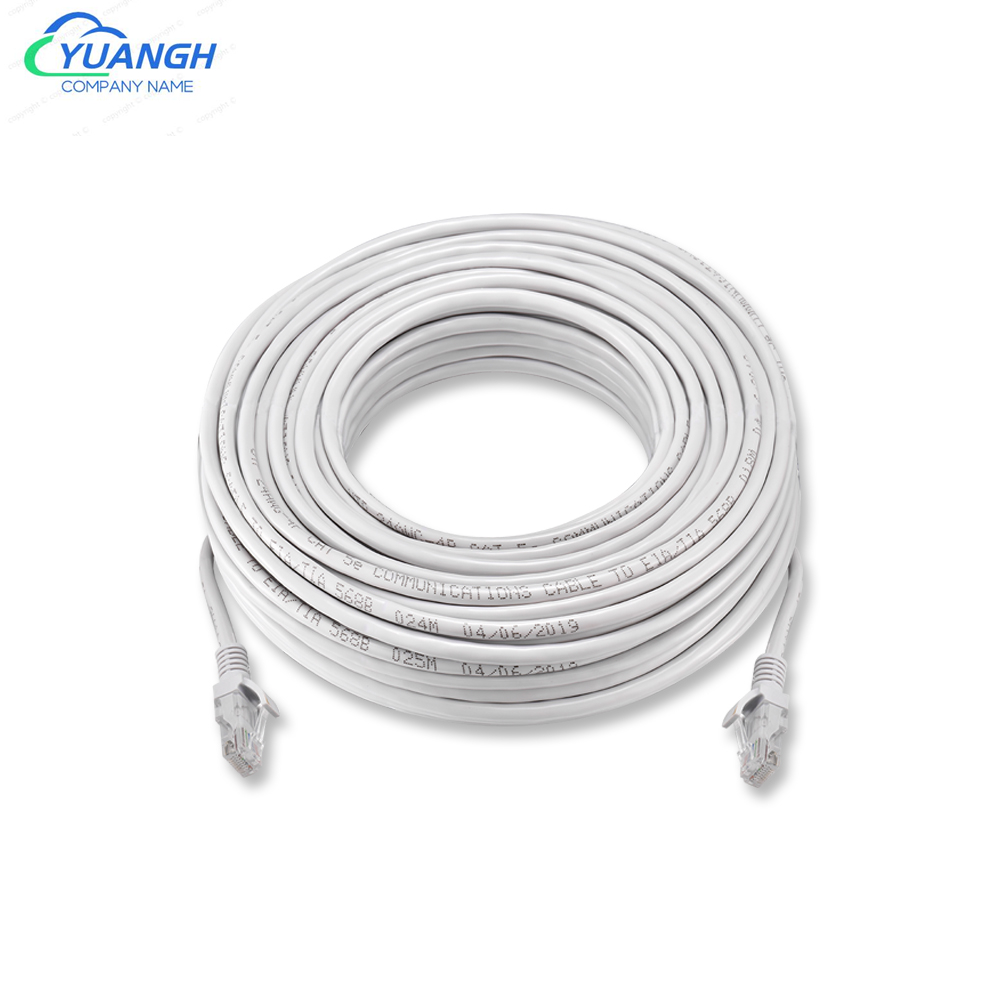 5M 10M 20M 30M 50M Cat5 Ethernet Network Cable RJ45 Patch Outdoor Waterproof LAN Cable Wires For CCTV IP Camera System