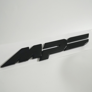 Image 1 - Glanz Schwarz Emblem MPS Stamm Aufkleber Für Mazda 3 6 ATANZE Axela 2,0 S 2,5 S MX 5 CX 5 CX 8 CX 9 RX 8 Mazdaspeed Mazda Aufkleber ABS