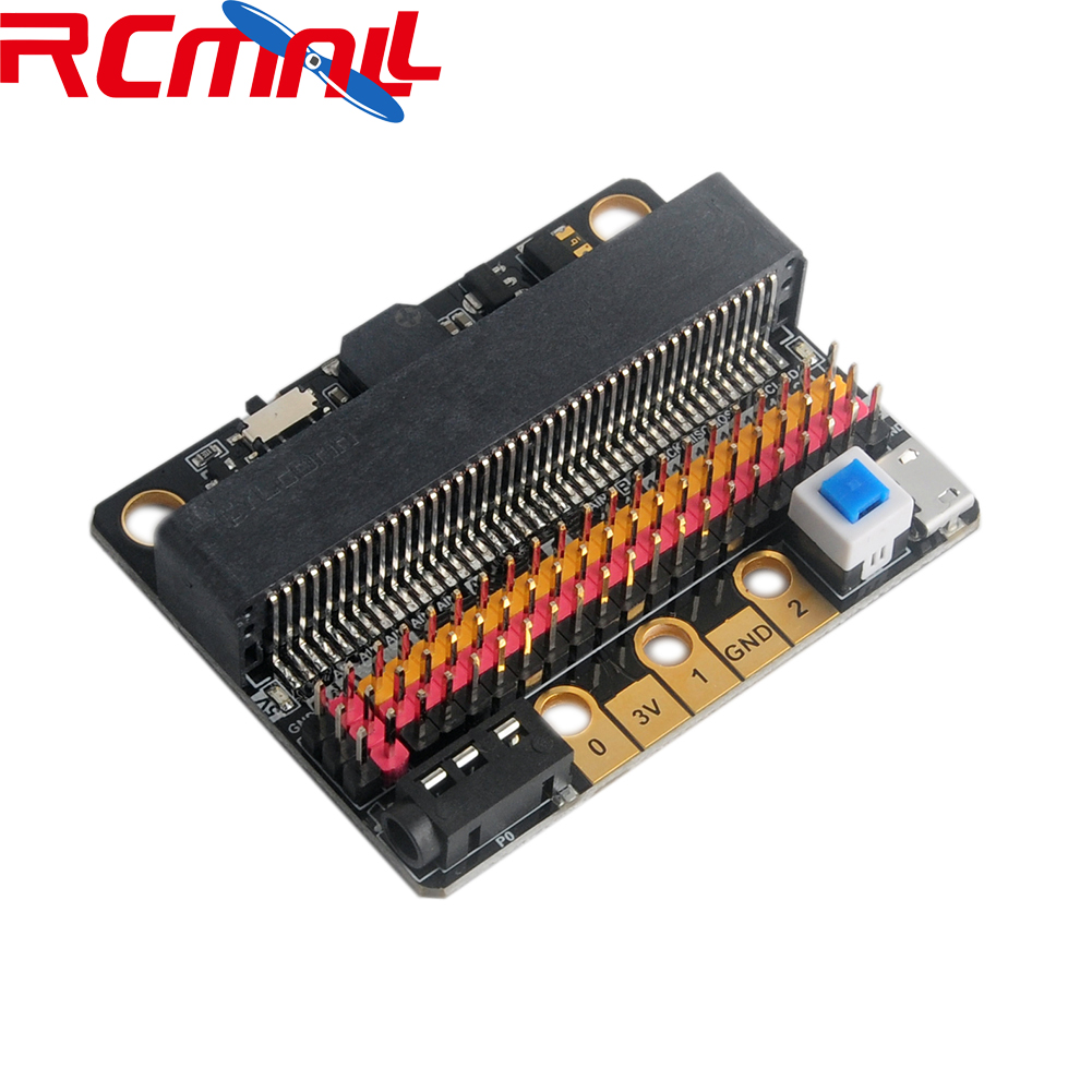 GPIO Expansion Board IOBIT V2 Breakout Adapter For Lego Micro:bit Microbit, For Kids Programming Education MakeCode RCmall