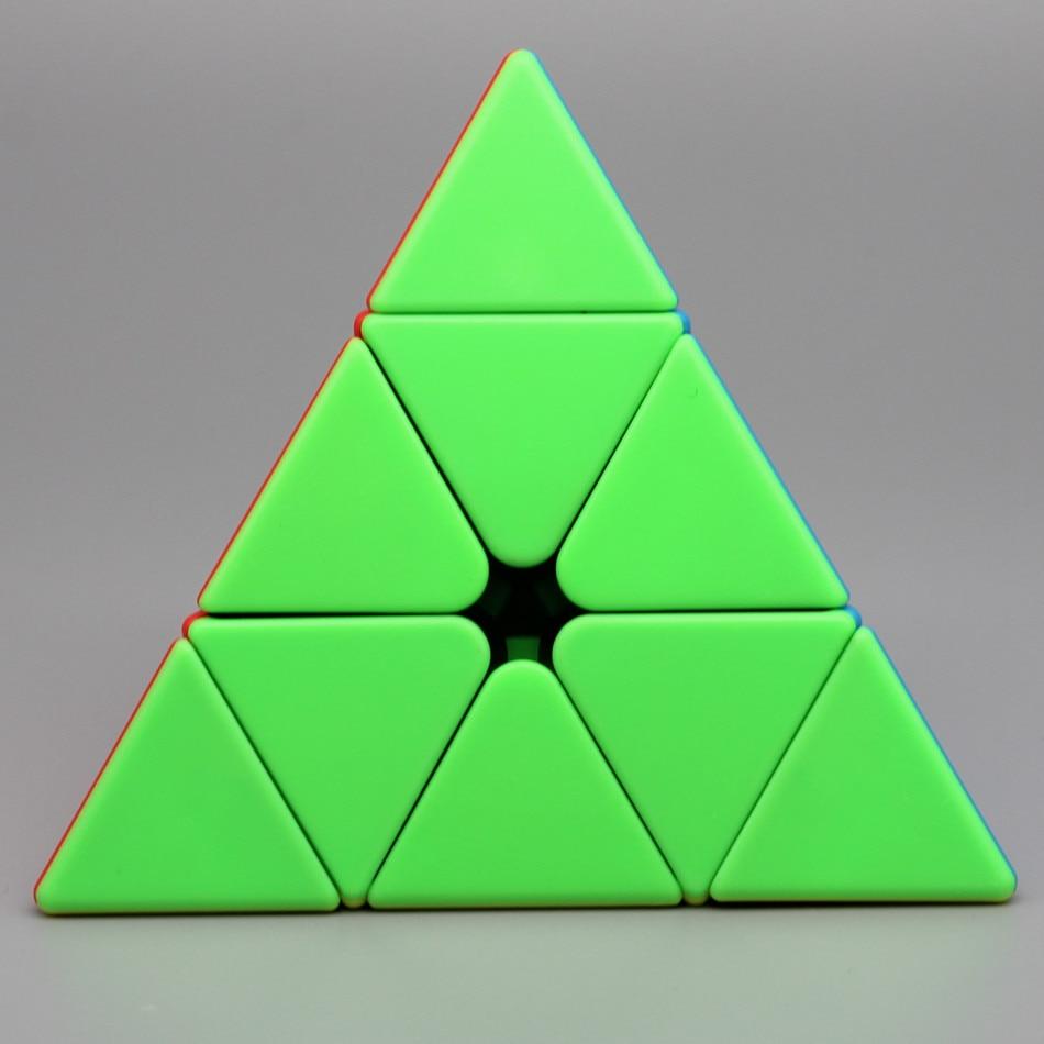Moyu meilong pirâmide cubo mágico 3x3 cubo mágico wca competição aprendizagem & educacional 3x3x3 pirâmide quebra-cabeça brinquedos para crianças