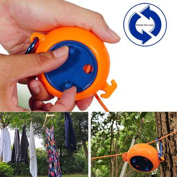 Travel Business Trip Portable Retractable Clothesline Outdoor Indoor Hanging Clothes Camping Windproof