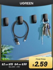 Holder-Clip Organizer Hanger Key-Bag Headphone-Charger Car-Cable-Holder Cable-Management