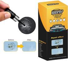 PLEXTONE High Quality DIY Windshield Repair Kit for bulls eyes star half moon long crack combination repairment