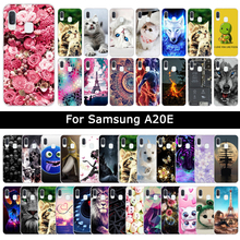 Luxury Cases For Samsung Galaxy A20E A20 E Soft TPU Silicone Floral An