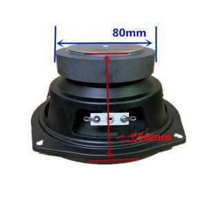 Image 4 - SOTAMIA 1 шт. 5,25 дюйма Аудио НЧ динамик драйвер 4 Ом 30 Вт бас звук активный динамик DIY мультимедийный сабвуфер громкий динамик