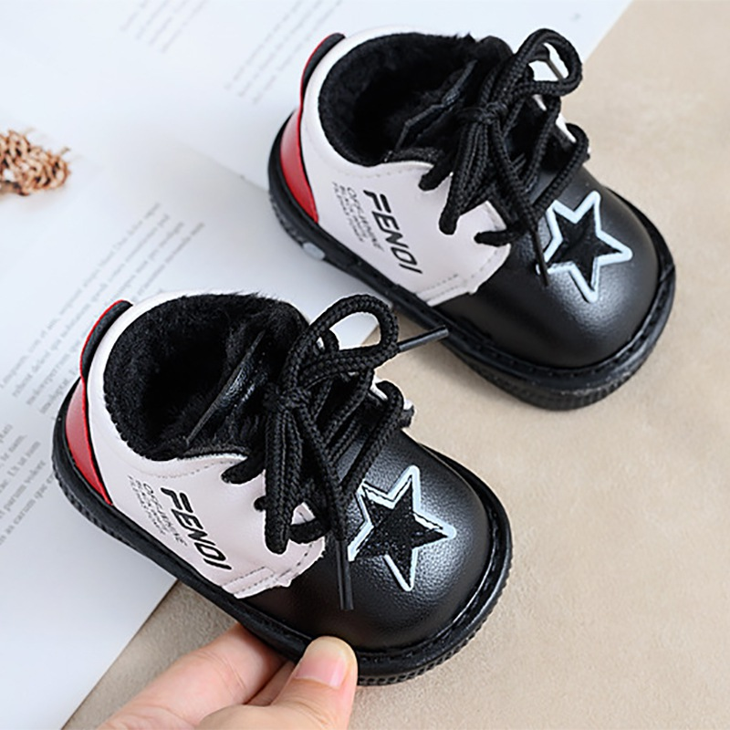 New Spring Autumn 0-1 Years Old Baby Boy Girl Casual Non-slip Breathable PU Baby Toddler Shoes Summer Kids First Walkers