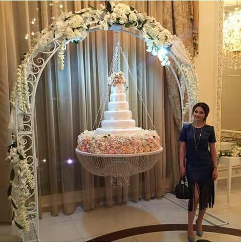 Cake Fantasy Chandeliers Wedding Weddings Hanging And Decor Stand Wedding Cake