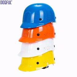 Kask kask bezpieczeństwa bezpieczeństwa odporny na uderzenia  lekkie  oddychające ochronne z daszkiem bezpieczne w miejscu pracy pracownicy na świeżym powietrzu kapelusz na