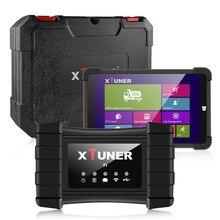 XTUNER – T1 HD Scanner de Diagnostic de voiture, outil de Diagnostic de camion robuste, avec Airbag ABS DPF EGR Reset OBD