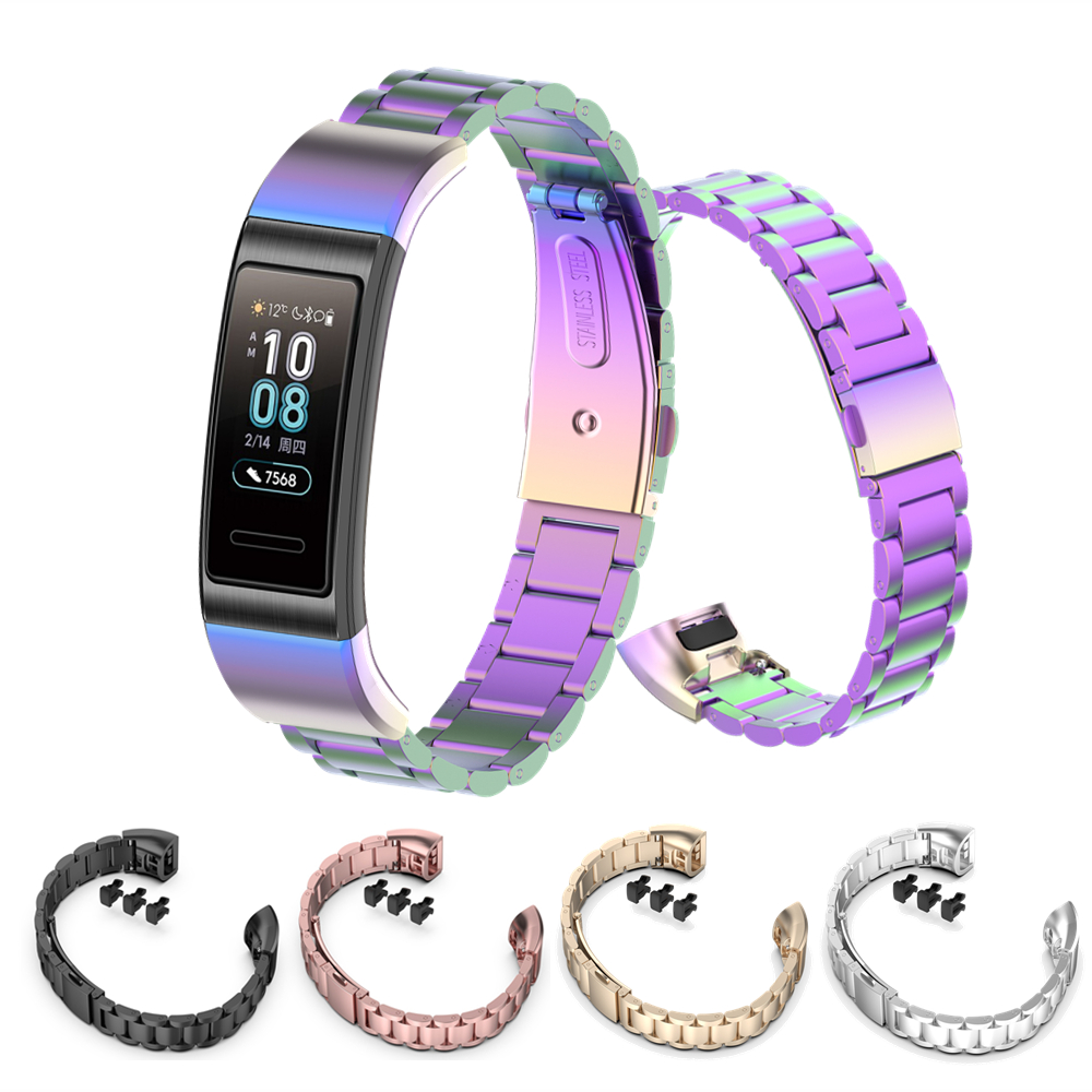 Stainless Steel Metal Milanese Bracelet For Huawei Band 4 Pro & 3 Pro Watch Band  For Huawei Band 3/3pro Wrist Strap Accessories