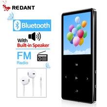 RedAnt Mini MP3 Có Bluetooth Hifi Lossless Nghe Nhạc Mini Có Đài FM Loa Tai Nghe Thể Thao MP 3 Di Động Kim Loại máy Nghe Nhạc
