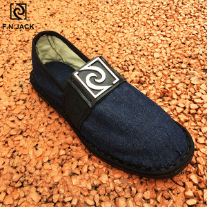 Image 4 - F。 n。ジャック男性のキャンバススマートカジュアルファッション靴ゴム底 vip リンク scarpe ウォモ男性ゴム靴 sapato masculino