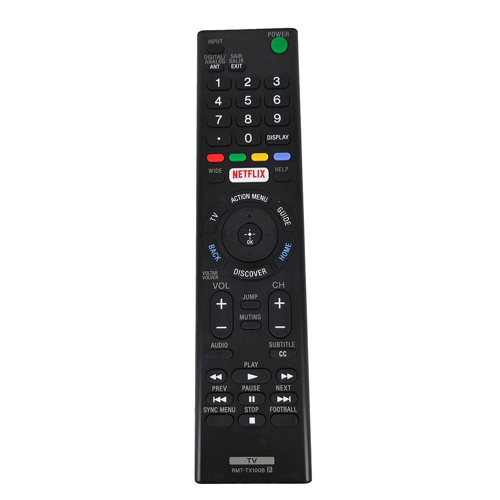 New Original RMT-TX100B RMT-TX100D For Sony LED LCD 4K TV Remote Control KDL-55W6500 XBR-55X855C KD-43X8301C KD-55XD8599