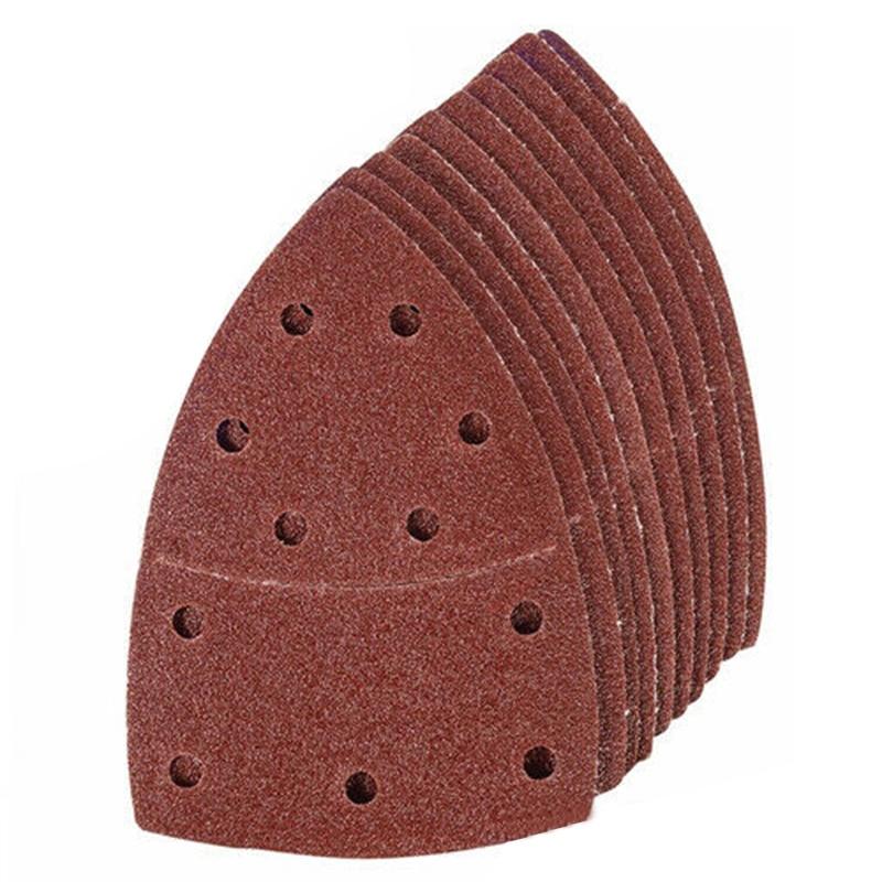 40pcs Sanding Sheets Palm Sanders Papers Kit 60 80 120 240 Grit Tools Equipment