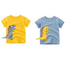 MrY Kids Summer Cotton Cartoon T-shirts Tops Octopus Print T-shirts Summer Child Casual Tees Short Sleeve Cotton Tops Clothes цена и фото