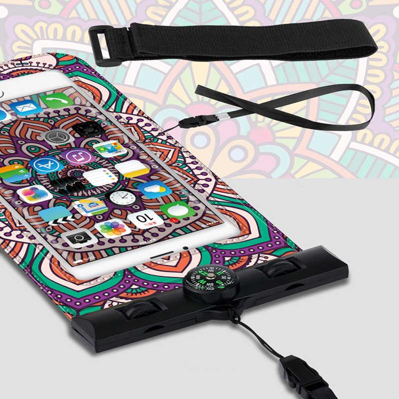 Étanche étui de téléphone portable Pour iPhone X XS MAX 8 7 6 Plus Samsung Xiaomi Mobile Pochette Sac De Natation étanche pour Téléphone Pochette