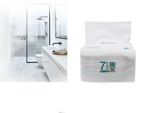 8pcs Quilted Tissue Bath Wash Room Bulk Sheets Wipes