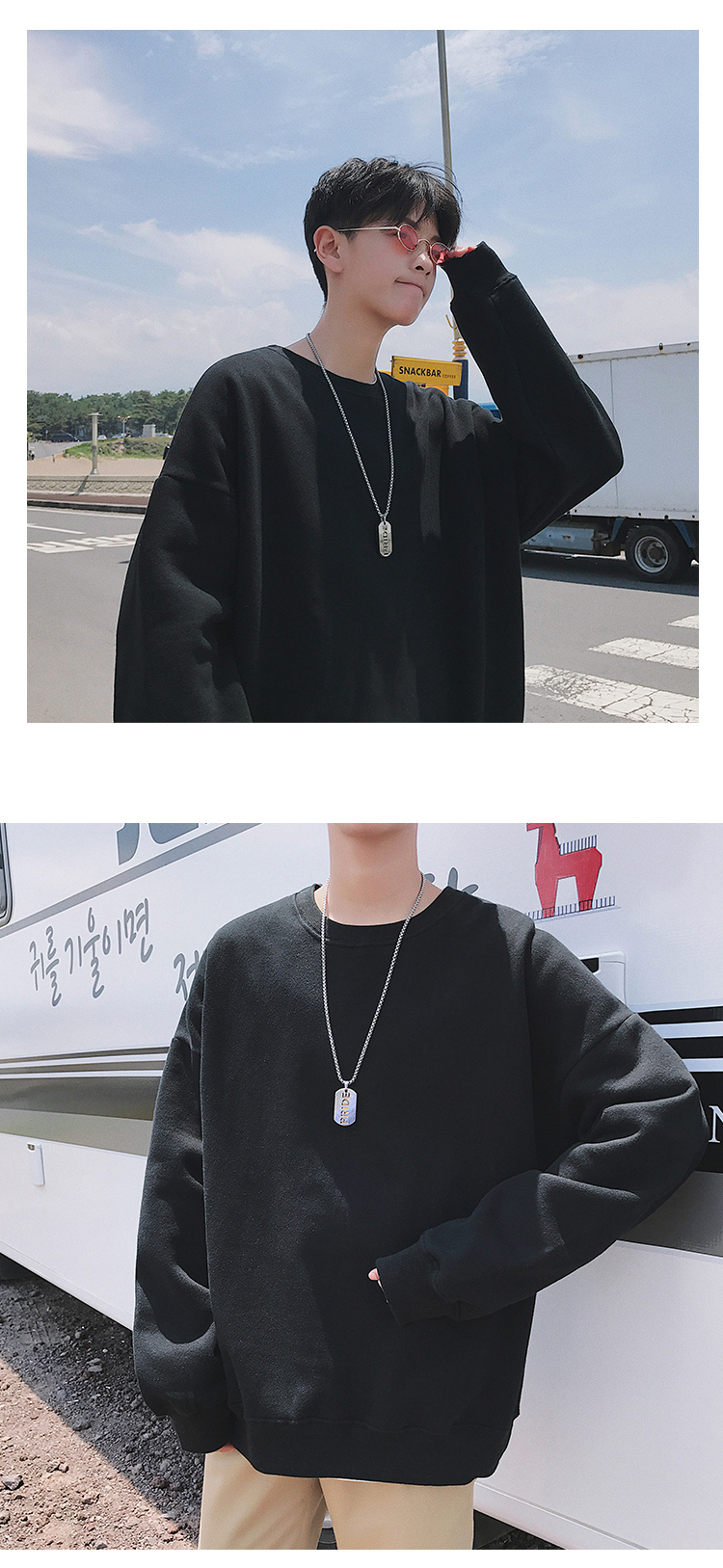 Men Hoodies Sweatshirts Street wear Black Hoodie Male Hip hop Winter Basic Hoodies 19