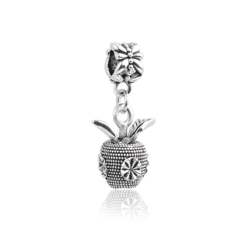 Europeo di vendita caldo di modo Di Natale campana farfalla foglia di palma conchiglia pendente del braccialetto accessori per bracciale originale del prodotto