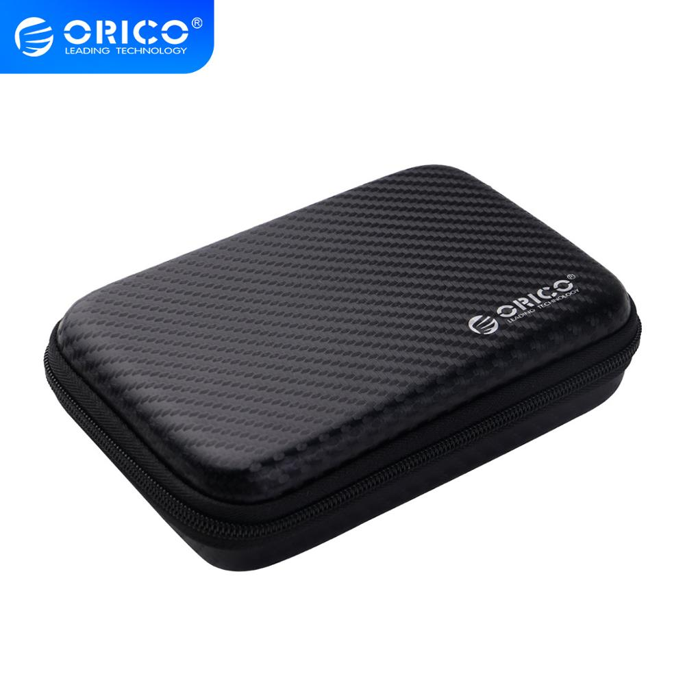 ORICO 2.5 support pour disque dur Portable HDD Protection sac pour externe 2.5 pouces disque dur/écouteur/U disque dur boîtier noir