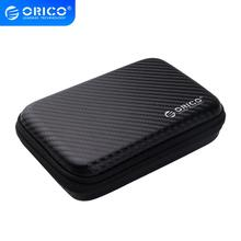 цена на ORICO 2.5 Hard Disk Case Portable HDD Protection Bag for External 2.5 inch Hard Drive/Earphone/U Disk Hard Disk Drive Case Black