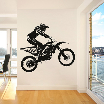 Dirt Bike Wall Sticker