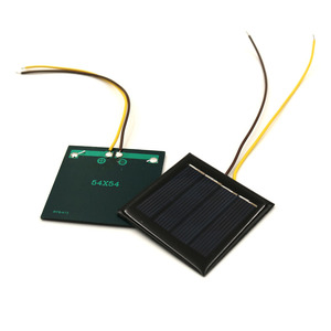 Image 3 - 5pcs/lot 2V 100mA with 15cm extend wire Solar panel Solar cells Epoxy Polycrystalline Silicon DIY Battery Power Charger Module