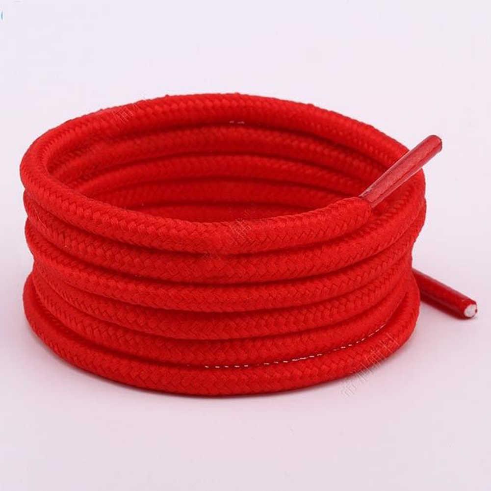 Nuevos cordones de zapatos de moda Unisex encerados cordón redondo vestido de cordones de zapatos Diy colorido Color rosa elástico cordones de alta calidad