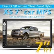 SWM X5 2 DIN 7 pollici Bluetooth AUX RCA Auto Stereo MP4 MP5 Player Video Player FM Radio Ricevitore Testa unità di Auto Multimedia Player(China)