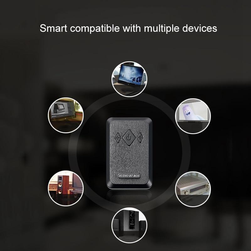 Беспроводной адаптер с Bluetooth 2 в 1 стерео Bluetooth 4,2 приемник передатчик аудио адаптер Aux 3,5 мм для ТВ телефона ПК