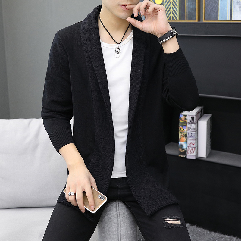 Selling The New Male Fashion Simple Cardigan Sweater Cardigan Knitting Cardigan Men Male Coat 2019 Direct Manufacturers