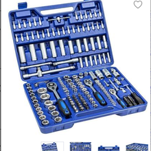 Набор ручных инструментов для ремонта автомобиля, набор инструментов, коробка механических инструментов для дома, Набор торцевых гаечных к...