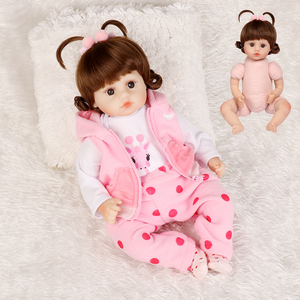 Image 5 - Realistic Reborn Doll 19 Inch Lifelike Handmade Soft silicone reborn toddler baby dolls Christmas surprise gifts lol toy