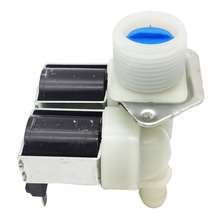 цены Ordinary Washing Machine Double Inlet Valve Household Appliance Work Washing Machine Replacement Parts FPS180A AC220V