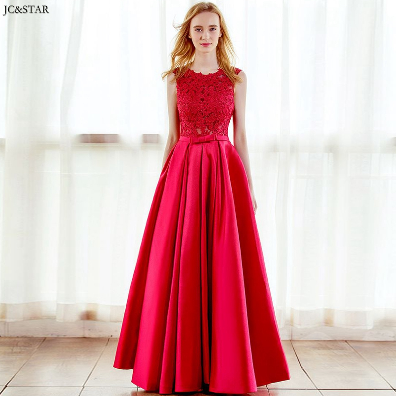 Vestido De Dama De Honra New Lace Satin Halter A Line Red Bridesmaid Dress Long Damigella Cheap Robe De Demoiselle D Honneur