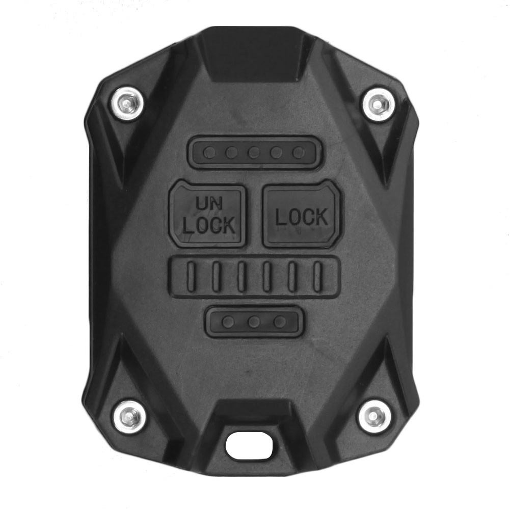 Replacement <font><b>Key</b></font> Fob Case Excellent Craftsmanship Well Durability <font><b>Remote</b></font> Control <font><b>Key</b></font> Shell for <font><b>Jeep</b></font> Wrangler JK 2007-2018 image